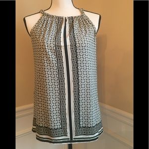Sleeveless blouse new with tags